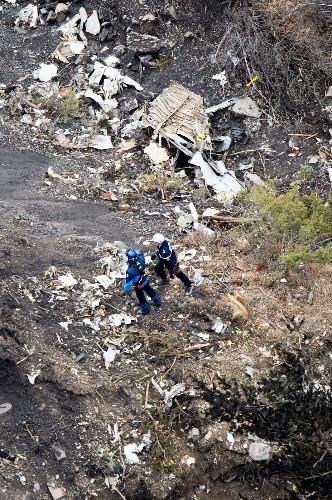 Germanwings Plane Crash Aftermath: Pictures