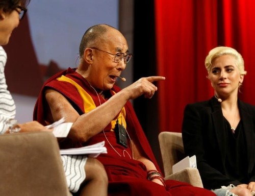 Lady Gaga caught in bad romance with China after meeting Dalai Lama