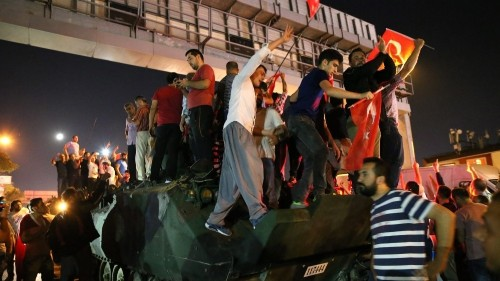 Turkey prime minister says coup attempt foiled