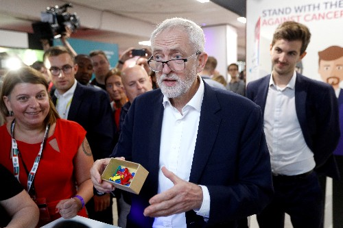 The party will decide our Brexit position, says UK Labour's Corbyn