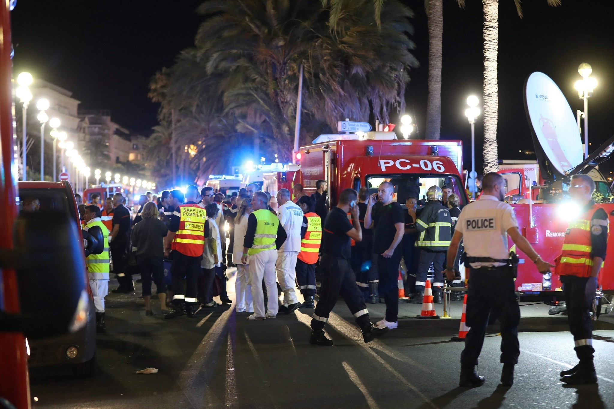 Nice attack: truck driver named as France mourns 84 killed in Bastille Day atrocity – as it happened