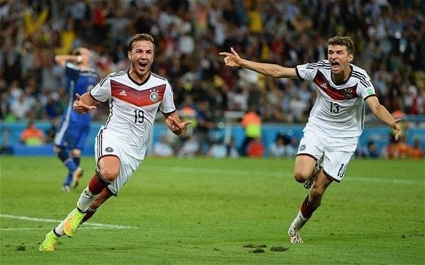 World Cup final 2014: Mario Gotze scores only goal as Germany beat Argentina at the Maracana
