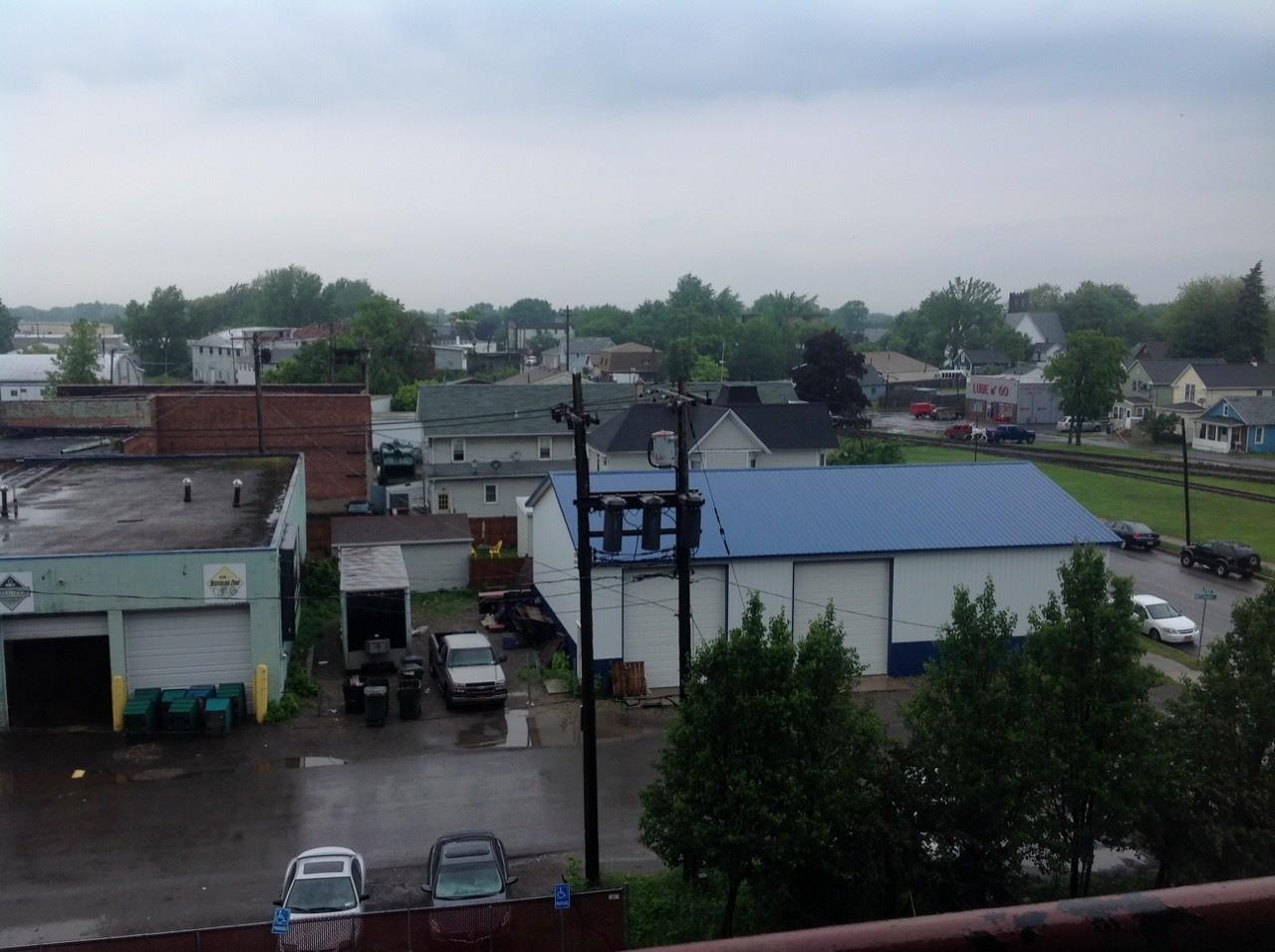 It stopped raining in North tonawanda