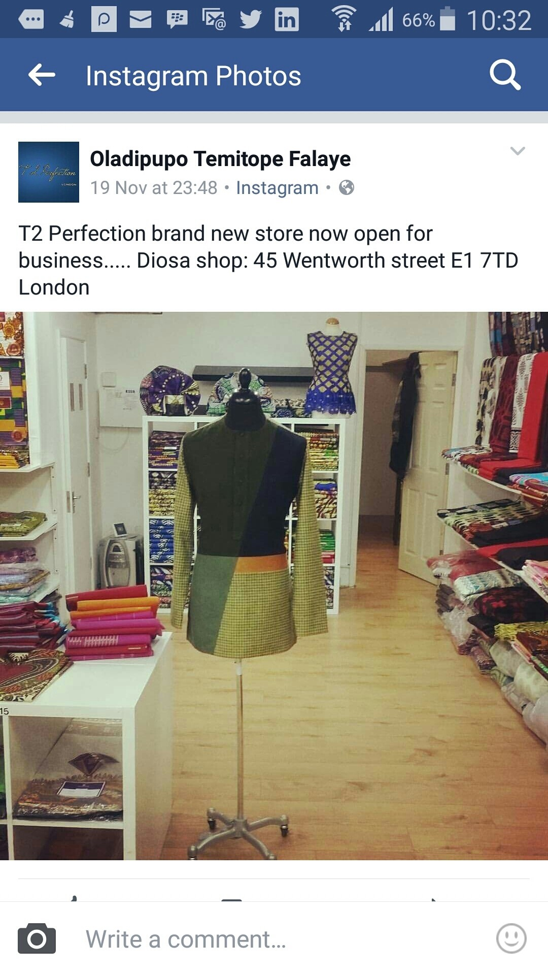 New brand . from T TO PERFECTION TAILOR MADE London.