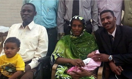 Sudanese woman Meriam Ibrahim 'safe and well' in US embassy