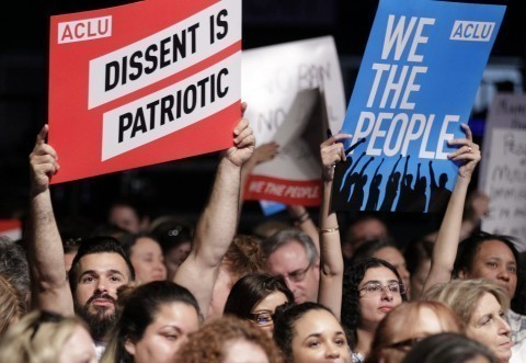 ACLU is leading a million-dollar resistance effort against Trump's policies