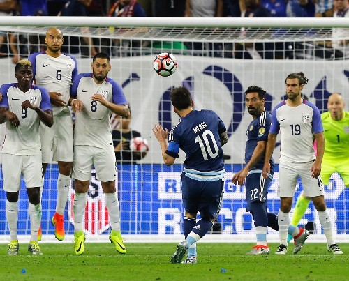 Argentina Crushes US in Copa America: Pictures
