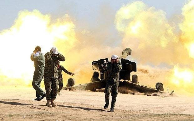 Pro-Baghdad forces 'making slow progress in Tikrit against determined Islamic State'