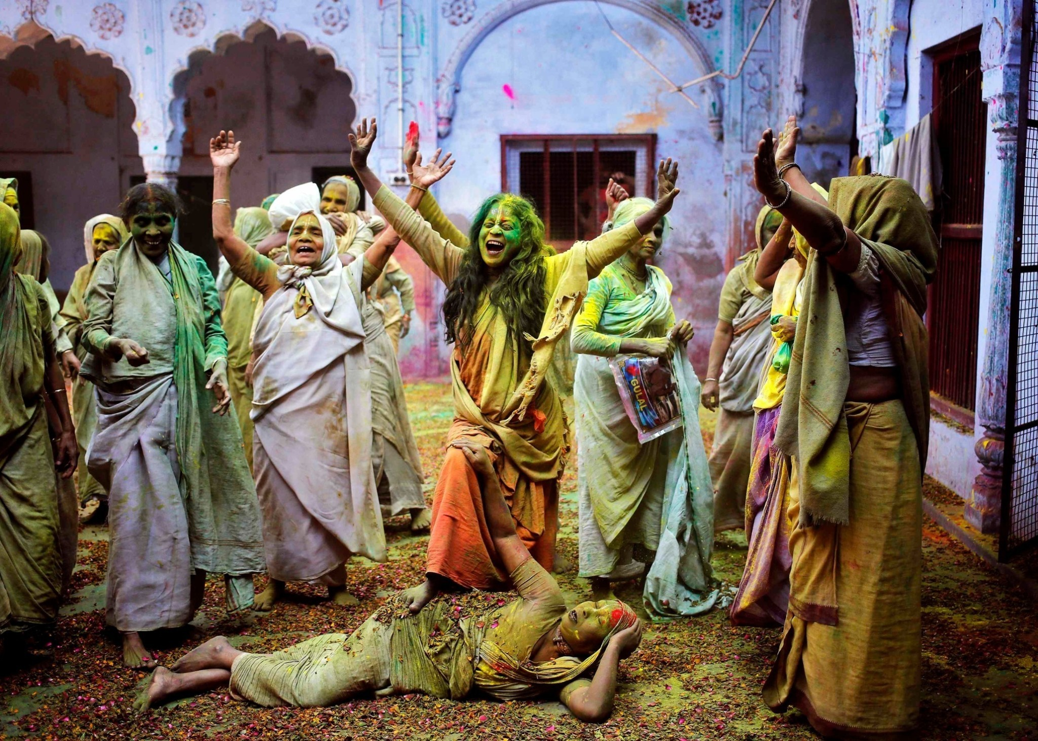 Holi, festival of colours - in pictures