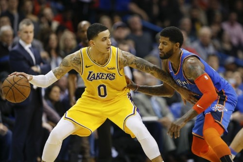 NBA roundup: Lakers take down Thunder in OT