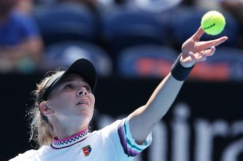 WTA roundup: Anisimova, 17, claims first title in Bogota