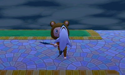 #animalcrossing #newleaf just another shark