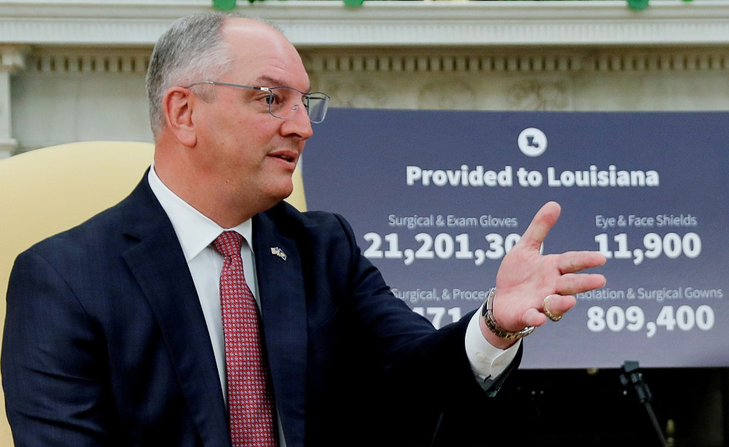 Louisiana governor issues emergency declaration ahead of Hurricane Zeta