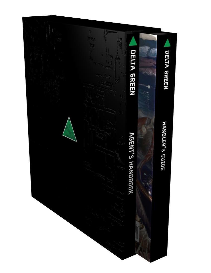 It's not too late to pre-order the books / slipcover Delta Green set!