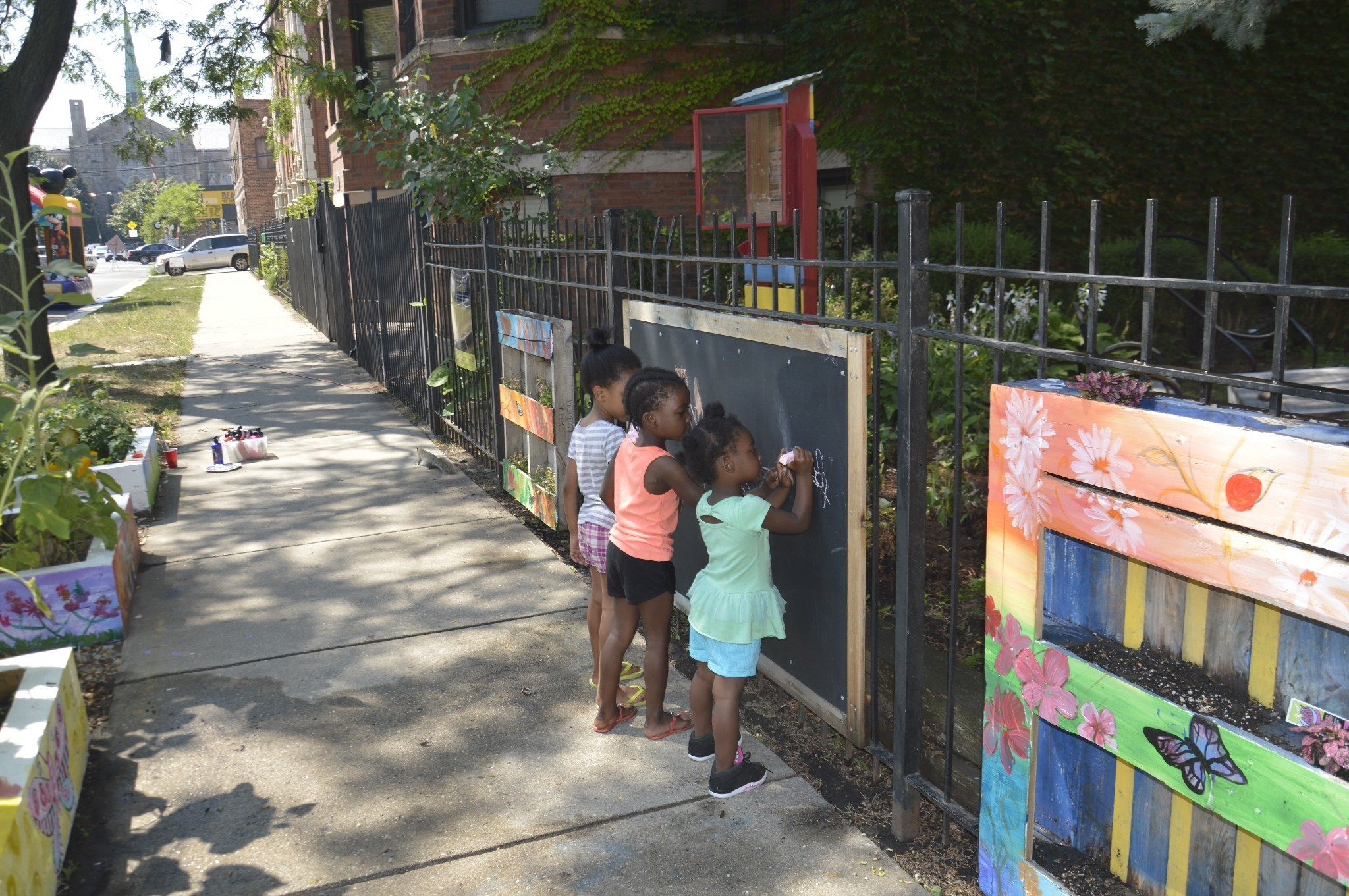 How community gardens and block associations help stem urban violence