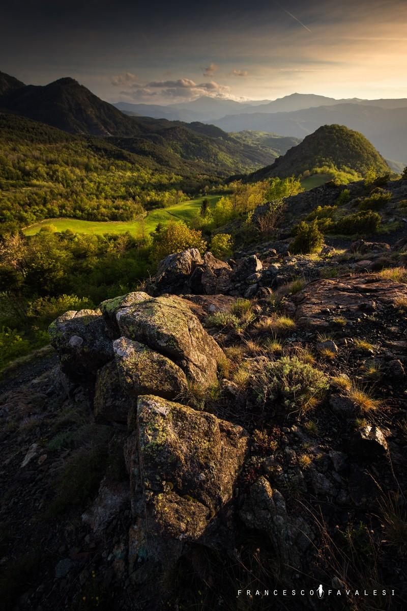 Val Trebbia - una sera di primavera