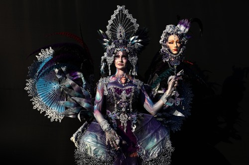 Body Painting as High Art: Pictures