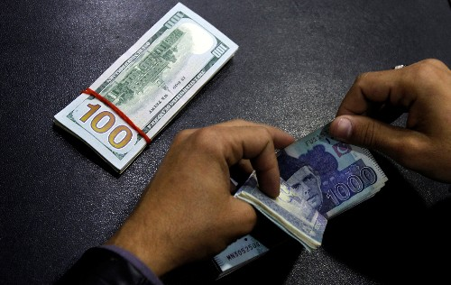 Pakistan rupee reaches record low, sliding more than 3% slide in a day