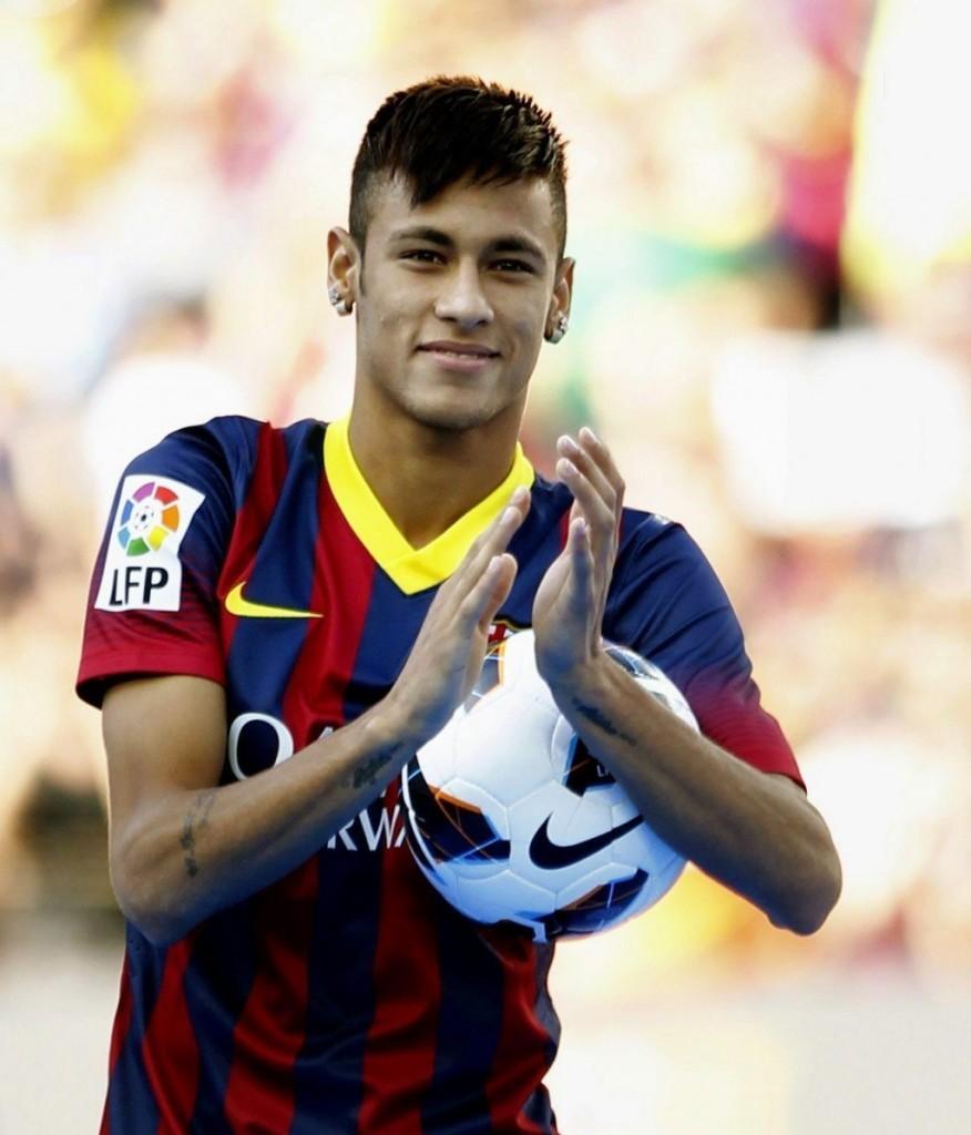 Neymar in barcel