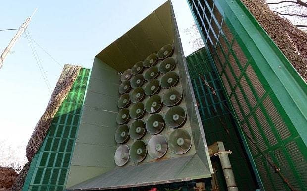 South Korea uses loudspeakers to blast North Korea with boy-band music