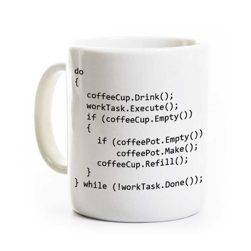 C++ Program Coffee Mug - Computer Science Programmer Gift - Java Object Oriented Programming