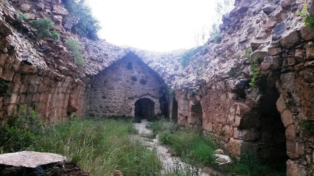 Harun Reşit Kalesinin Tarihi Kalıntıları.