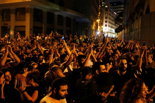 Lebanon scraps WhatsApp fee amid violent protests