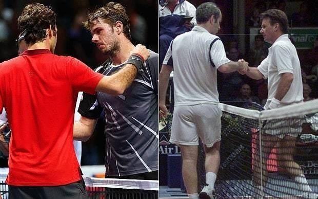 Roger Federer and Stan Wawrinka's spat reminds me of John McEnroe and Jimmy Connors, says Mats Wilander