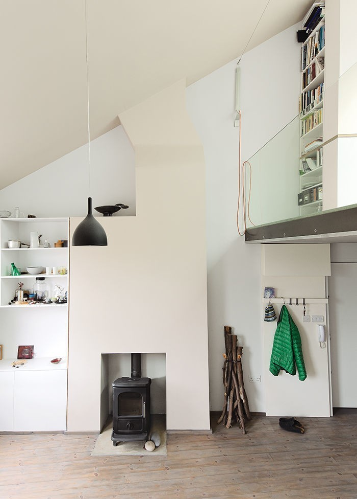 Articles about spacious all white london flat is—surprise—less 600 square feet on Dwell.com - Dwell