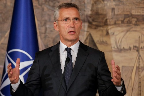 NATO's Stoltenberg defends stance on Turkey's offensive in Syria