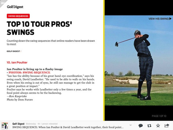 Tee Off With Golf Digest on Flipboard