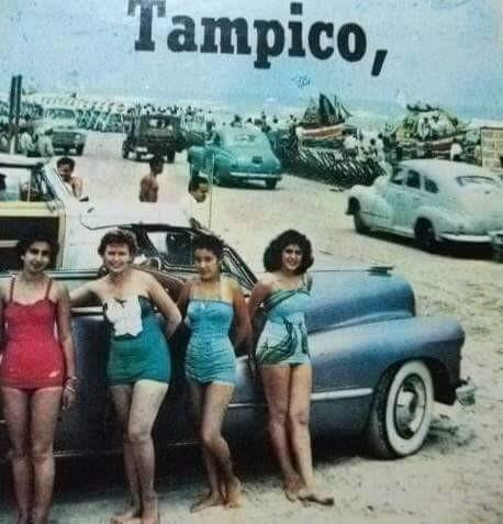 tampico en los 50s