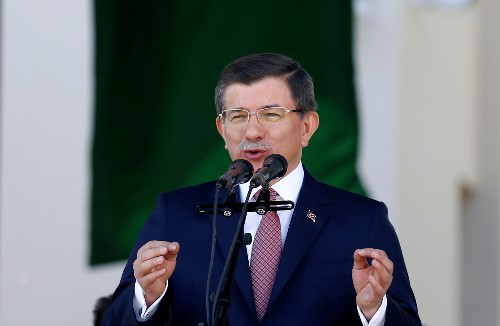 Former Turkish PM Davutoglu sharply criticises Erdogan's AK Party