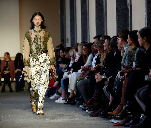 Etro goes 'Aristo-Indie' at Milan Fashion Week show