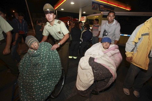 Earthquake in Chile: Photo Gallery