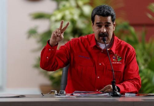 """Presidente venezolano dice que """"desde hace meses"""" hay contactos con funcionarios de EEUU"""