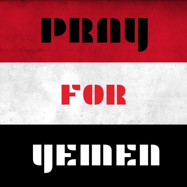 Pray4Yemen - Magazine cover