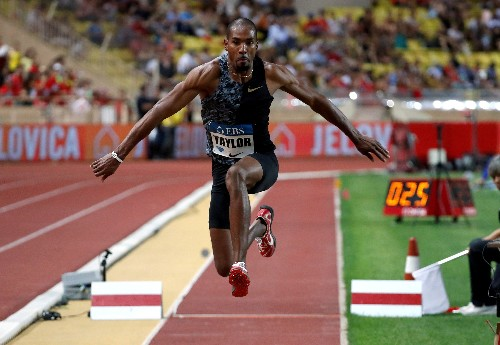 Athletics: Taylor to fly 5,000 miles to take one jump at U.S. meet