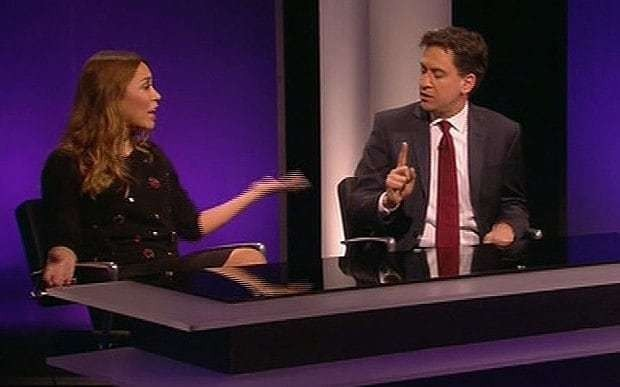 'Mansion tax is Pure and Simple': Ed Miliband hits back at Myleene Klass