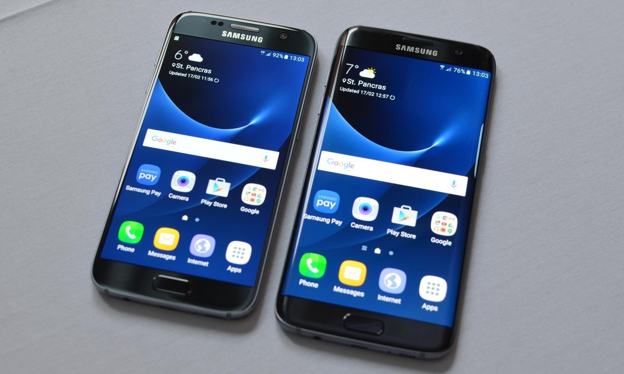 Samsung Galaxy S7 and S7 Edge waterproof flagship smartphones launched at MWC