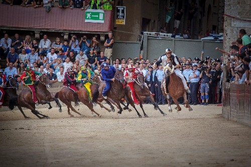 Scenes from the Palio, Italy's Most Famous Horse Race
