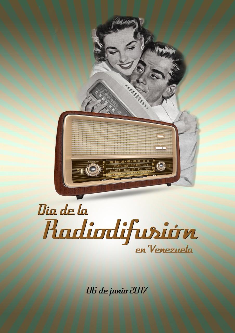 """#DiseñoGrafico #rrpccsdigital PROPUESTA AFICHE """"DIA DE LA RADIODIFUSIÓN """" Photoshop"""