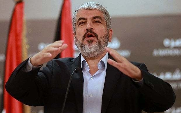 Hamas leader praises 'balance of terror' with Israel as Abbas says Netanyahu agreed to Palestinian state
