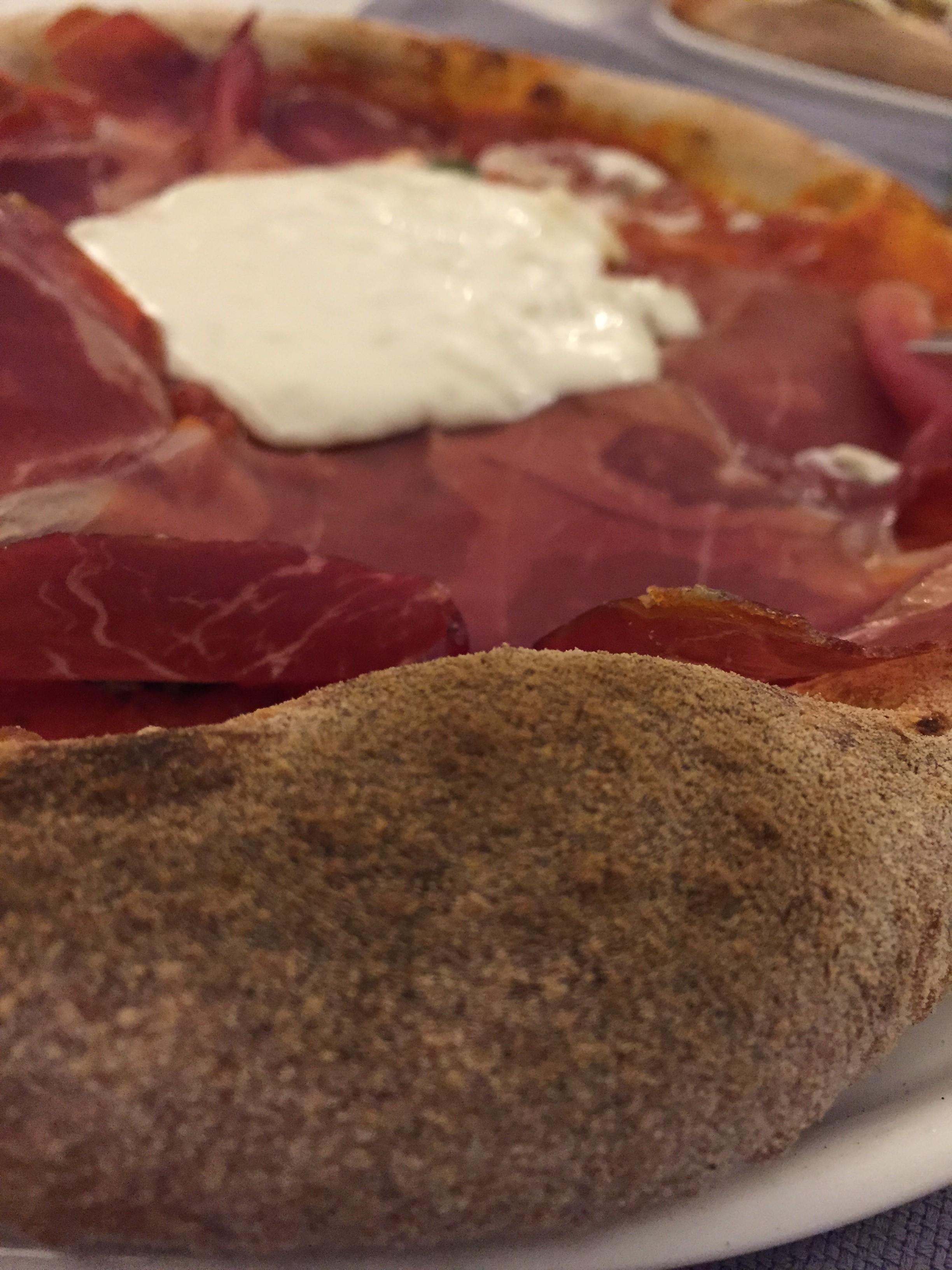 Pizza con impasto senza lievito: pazzesca! -presso Instabile, Spinea (ve)