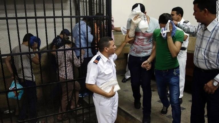 Egyptians in 'same-sex wedding' video sentenced