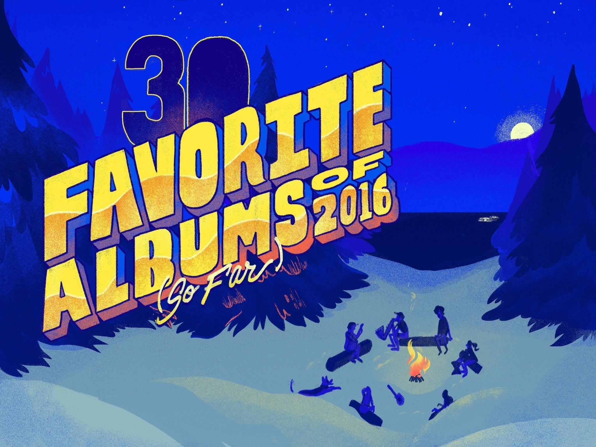 NPR Music's 30 Favorite Albums Of 2016 (So Far)