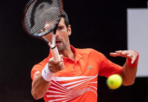 Tennis: Kyrgios expelled as big three reach last eight in Rome