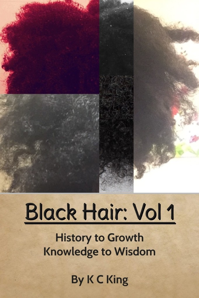 Black Hair  - Magazine cover