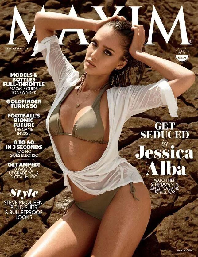 Jessica Alba in Maxim