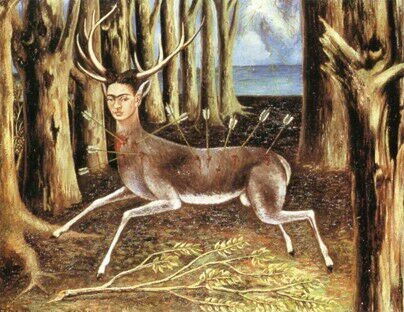 The Wounded Deer 1946 by Frida Khalo